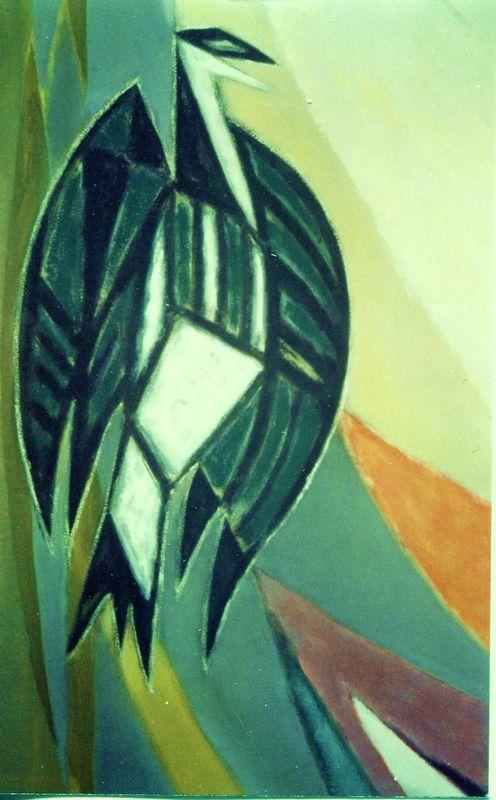Detail wandschildering Andreaskerk
