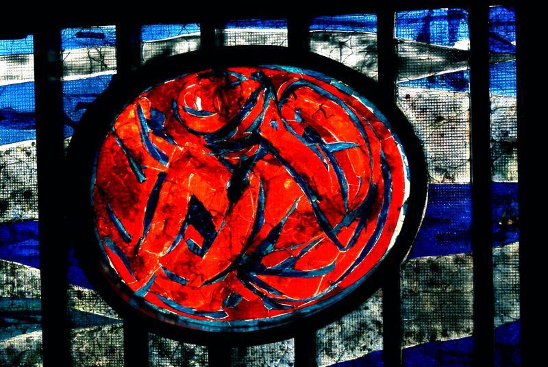 Detail raam Antwoordkerk