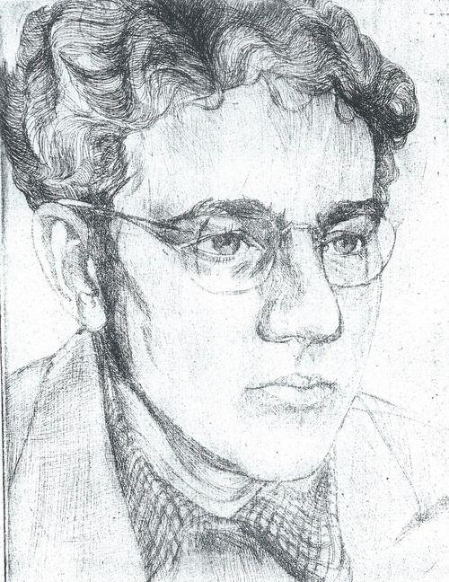 portret van Iersel door J. Popma in 1940