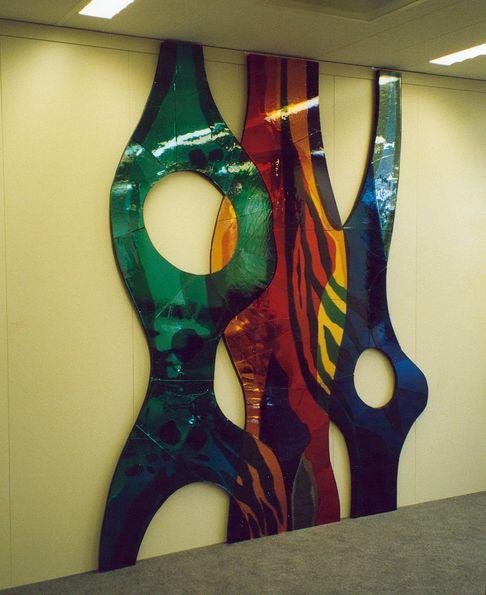 Glasplastiek NIVRA gebouw