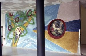 Wandschildering Eudokia ziekenhuis